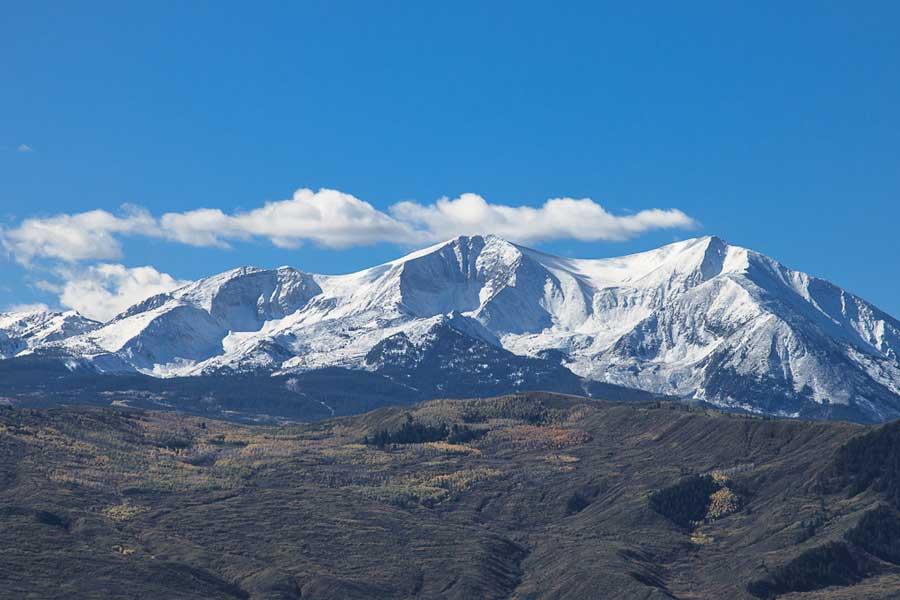 Neuschnee in Colorado - Anfang Oktober 2014